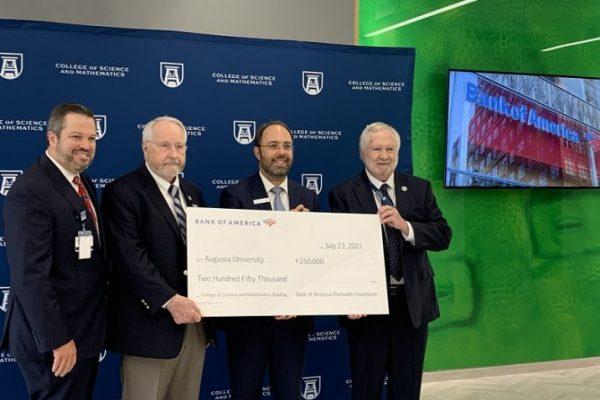 Bank of America awards $250,000 grant to Augusta University